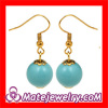 Turquoise Bead Dangle Earring,Fashion Earrings 2013 Wholeslae