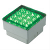 1.5W LED In-ground Lamp IP67 Square Shape with 5mm Straw LED