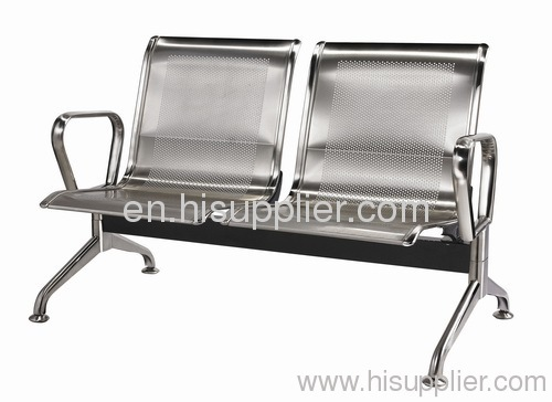 Stainless steel waiting chair airport seating