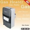 Portable cabinet gas heater