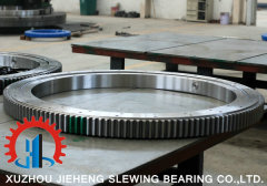 High precision slewing bearing for offshore crane