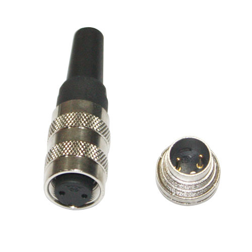 IP65 Female cable plug with cable clamp