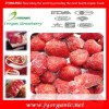 Organic frozen strawberry