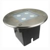 4W LED In-ground Lamp IP67 with 4pcs Cree XP Chip