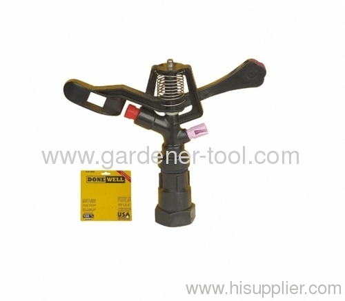 Plastic Impulse Sprinkler With Female Tapping.