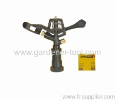 "Plastic Farm Irrigation Sprinker With G3/4"" female thread tapping And Brass Nozzle"