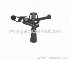 Plastic full circle irrigation farm sprinkler