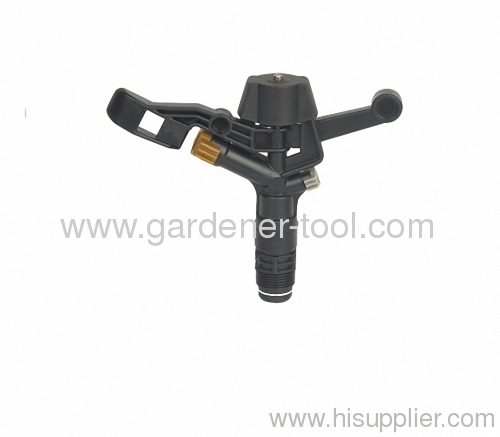 "Plastic Farm Irrigation Sprinkler With G3/4"" Male Thread Tapping"