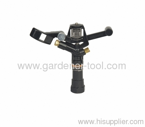 Plastic golf impulse sprinkler with female tap