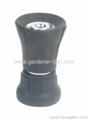 2-Way zinc garden hose fire nozzle