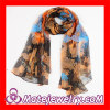 Wholesale Fashion Large Pashmina Ladies Designer Silk Scarf