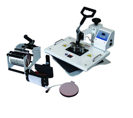 Combo Heat Press Machine(4-in-1)_Heat Transfer Machine