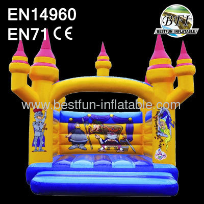 Middle Age Sinflatable Bouncer Castle