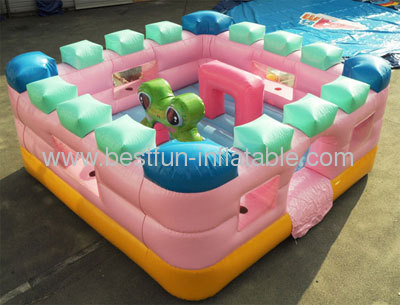 Pink Inflatable Bouncer For Toddler