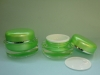 J020 round acrylic cream jar, acrylic cosmetic jar, cosmetics pot, cosmetics container