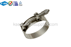 Stainless Steel T-Bolt screw clamp