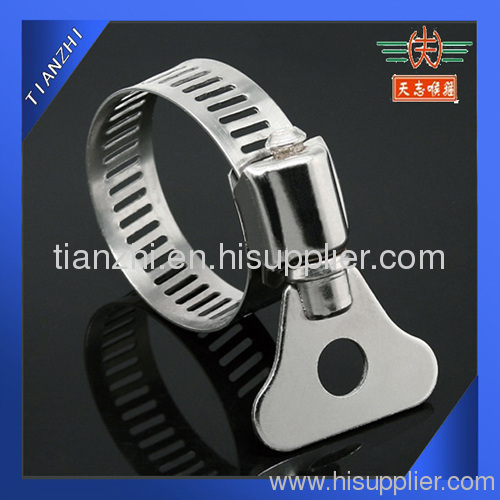 Automotive Hose Clamps with Stainless Steel Handle