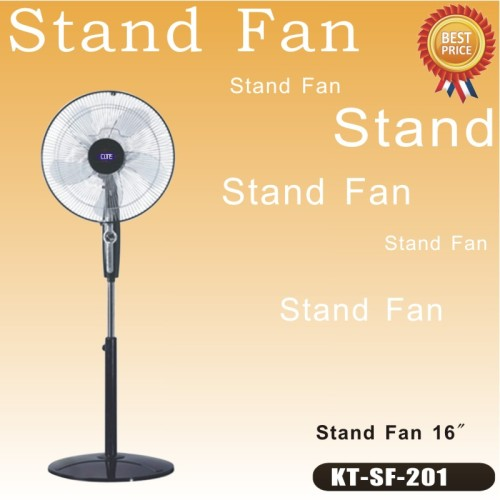 3 speed stand fan low:666rpm/middle:906rpm/high:1066rpm stand fan