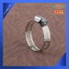 Flexible coupling hose clamp