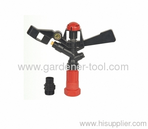 "Rocker Farm Sprinkler With 3/4"" female and 1/2""male thread tap"