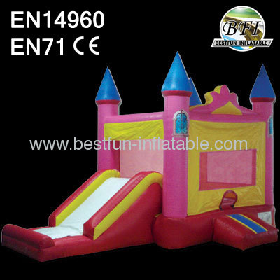 For Girl Princess Pink Castle Combo