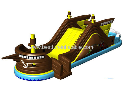 2014 New Design Inflatable Fregatte Slide