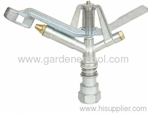 Big Zinc Agriculture Irrigation Sprinkler With female tap