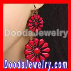 Fashion Daisy Flower Earring Vintage Flower Earrings Wholesale