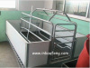 High quality galvanized pipe pig farrowing crates poultry equipment