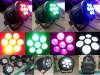 Tricolor 3in1 led stage light fixture