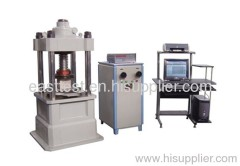 YAW 2000 servo compression testing machine