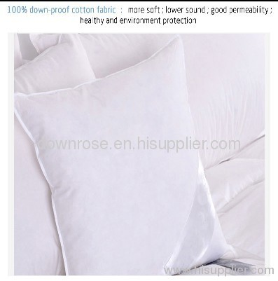Feather insert cushion