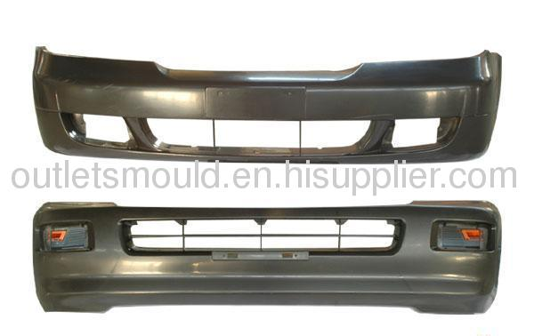 Plastic injection bumper mould manufacture