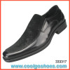 China simple design style leather dress shoes for men