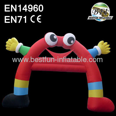 Funny Inflatable Cartoon Arch