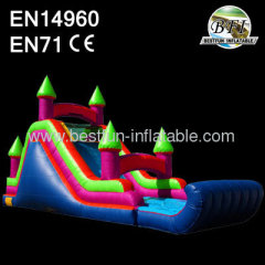 Inflatable Wet And Dry Slide