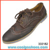 competitive price mens leather casual shoes manufacturer