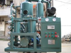 Transformer oil acid removal system oil treatment oil regeneration unit