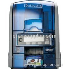 Datacard SD360 Color Dye sublimation/thermal resin printer - 100 cards
