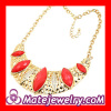China Gold Plated Cheap Bib Necklace 2013 Wholeslae