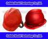 Injection mould for plastic safety helmet