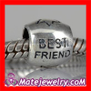 Best Friend Friendship european Silver Bracelet Beads Wholesale