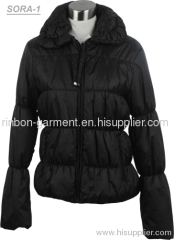 2013 NEW LADIES BLACK COLOUR PADDING JACKET.