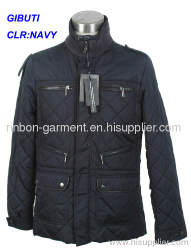 2014 CLASSIC 100% POLYESTER MEN'S NAVY WINTER JACKET