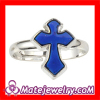 Fashion Jewelry Change Color Mood Unisex Sideways Cross Ring