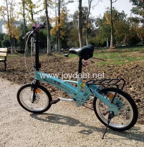 3 Speed Folding electric bike