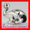 Sterling Silver Dinosaur Beads european Silver Animal Charm