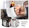 Fisticup With Brass Knuckle Handle Fist Cup Creative Coffee Stylish Mug