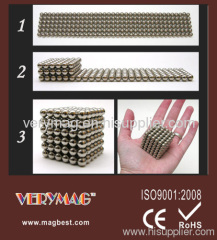 5mm Neocube,Magnet ball,buckyball with CE-EN71 and SGS certifications