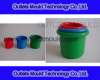 Injection mould for plastic bucket product